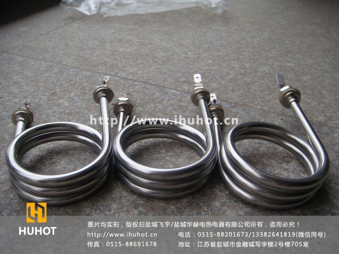 高密度双头电热管